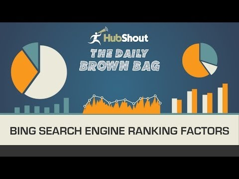 Bing Search Engine Ranking Factors Study Explained