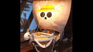 How to make a Papercraft: One Piece GOING MERRY (PHOTO TUTORIAL)