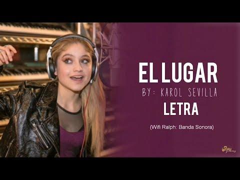 El Lugar - Karol Sevilla (LETRA)