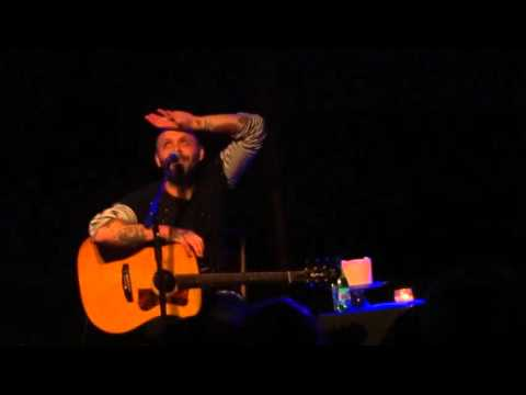 Justin Furstenfeld - Open Book tour Denton, TX 02-21-2016 Live! [HD 1080p]