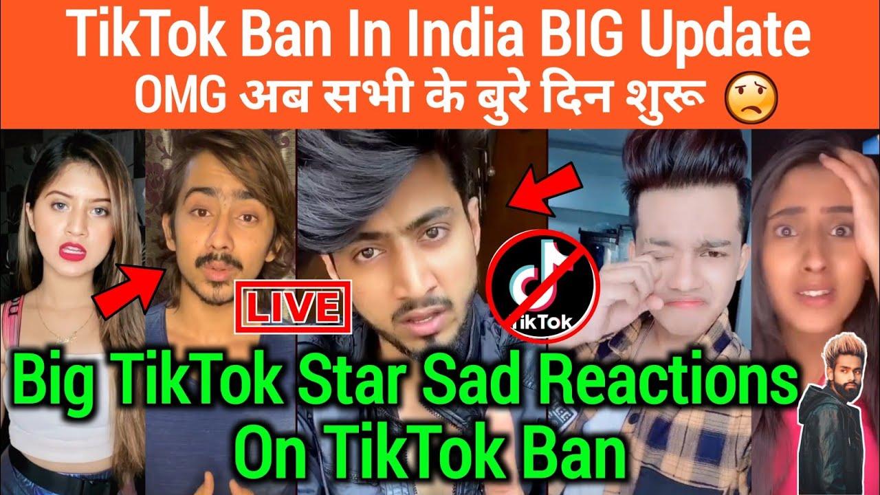 TikTok BAN in India BIG Update | Adnan07 ,Faisu07,Arishfa Khan,Amir Siddiqui Reactions On Tiktok Ban