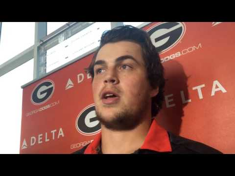 Jacob Eason discusses progress made over past year