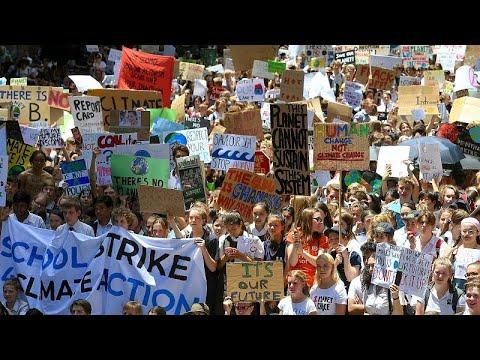إضراب جماعي لتلاميذ أستراليا للضغط من أجل مكافحة التغير المناخي…  - 11:54-2018 / 11 / 30
