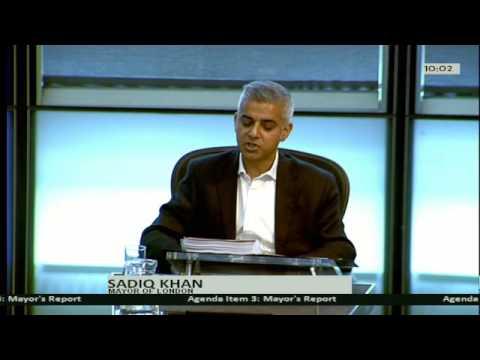 Sadiq's stance on grammar schools