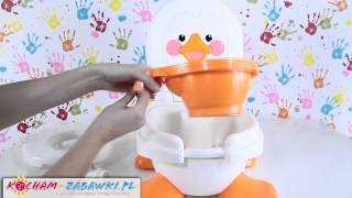 Ducky Fun 3 in 1 Potty / Nocnik Kaczuszka - Fisher Price  - T6211 - Recenzja