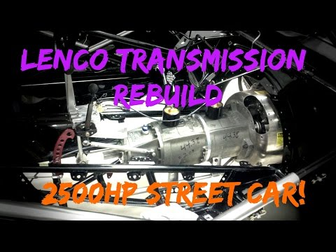 Rebuilding a Lenco Transmission for 2500hp!!