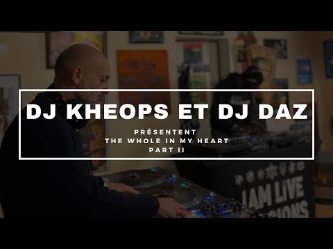 Youtube: DJ KHEOPS & DJ DAZ PRESENTENT«THE WHOLE IN MY HEART» – PART II