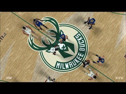 NBA 2K18 - Milwaukee Bucks vs Golden State Warriors - Gameplay (PS4 HD) [1080p60FPS]