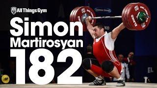 Simon Martirosyan (105kg, Armenia, 19 y/o) 182kg Snatch 2016 European Weightlifting Championships