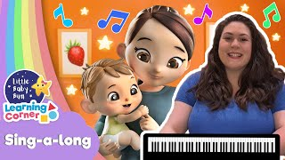 My Mommy Is A Super Mommy Song | Sing Along Corner | Learning Videos For Kids | Home School Cartoon