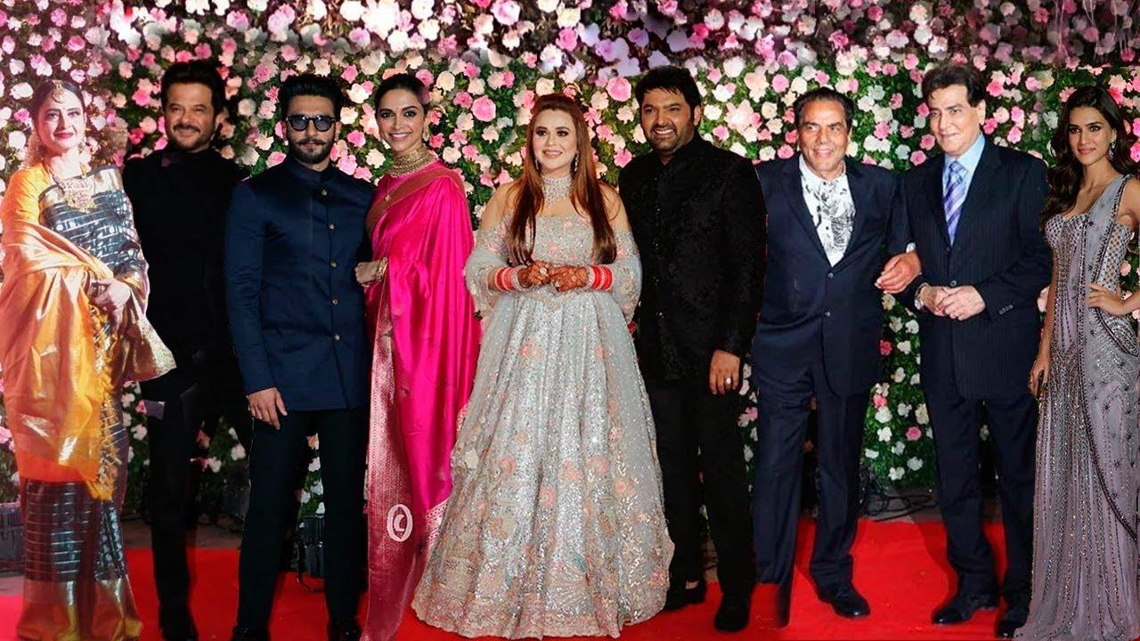 Kapil Sharma Ginni Chatrath Wedding Reception FULL HD Video