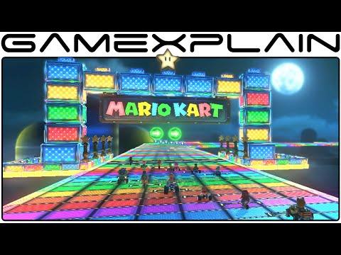 Mario Kart 8 DLC: Rainbow Road SNES Track (1080p 60fps)