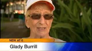 91-Year-Old Lady Runs The Marathon
