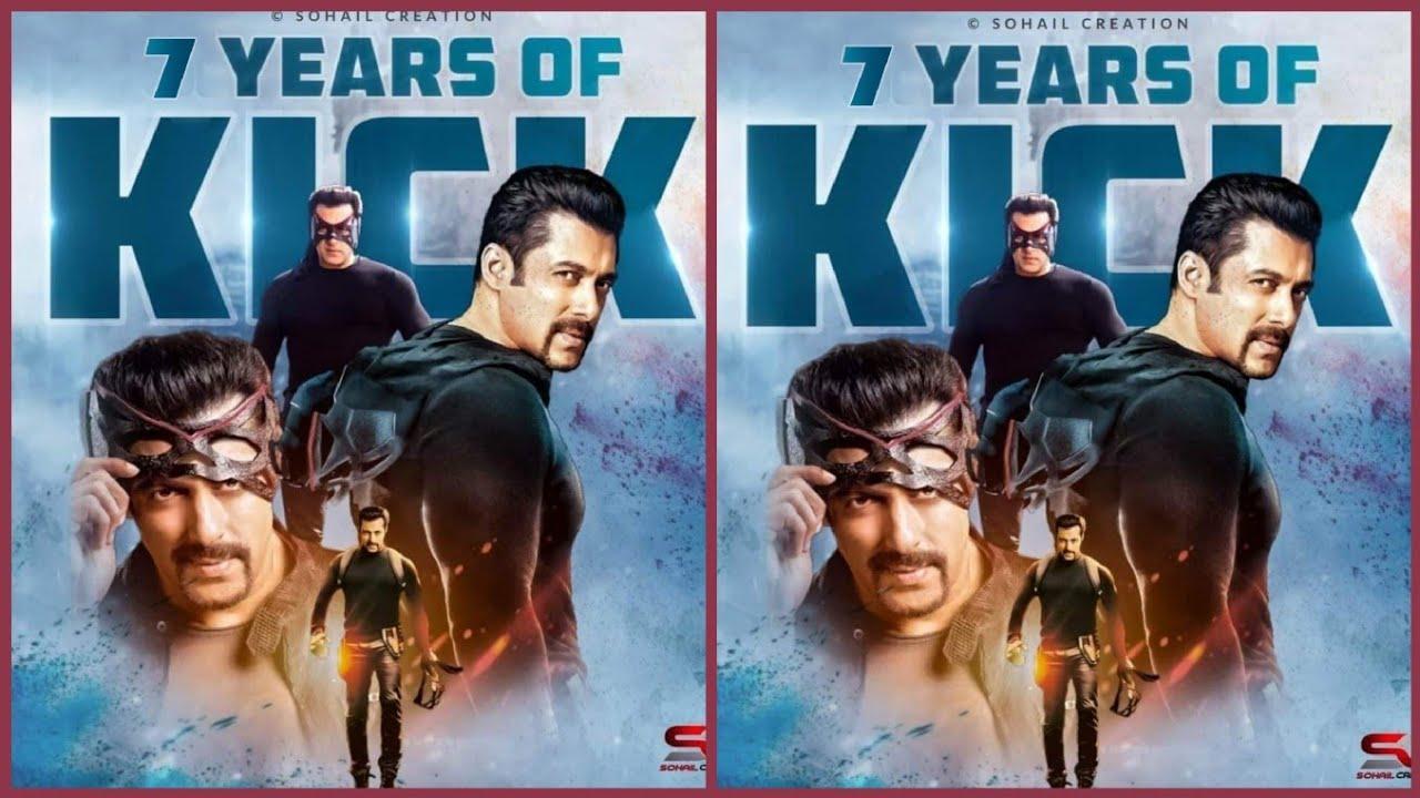 Celebrating 7 Years Of Stylish Blockbuster Of Salman Khan's Kick Movie Megatrend By Fans On Twitter