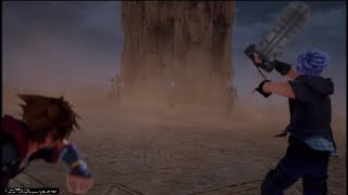 Kingdom Hearts 3 - Ansem, Xemnas And Young Xehanort Boss Fight