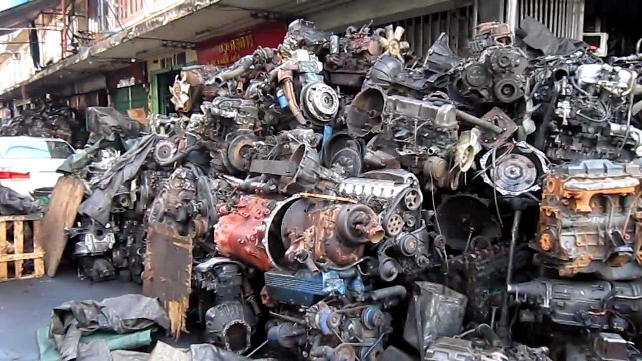 scrap motors in bangkok.MOV - YouTube