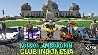 KONVOI CLUB LAMBORGHINI INDONESIA - GTA 5 KONVOI / Видео