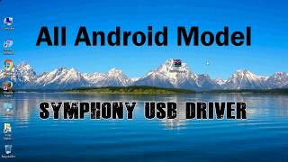How to Install Symphony USB Driver for Windows | ADB and FastBoot