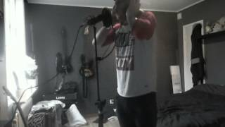 Upon A Burning Body - Red Razor Wrists Vocal Cover