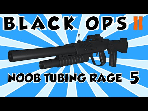 HOW TO MAKE PEOPLE RAGE IN BLACK OPS 2 | NOOB TUBING # 5