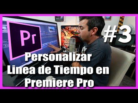 Personalizar la Linea de tiempo en Premiere Pro CC