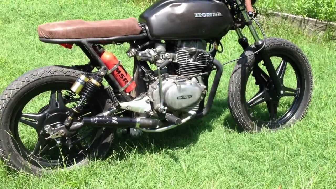 cb400 cb400tii hawk cafe racer - youtube