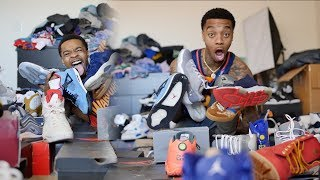 Flight Reacts UPDATED SNEAKER COLLECTION 2018! (NEW INSANE EPIC HYPEBEAST HEAT!)