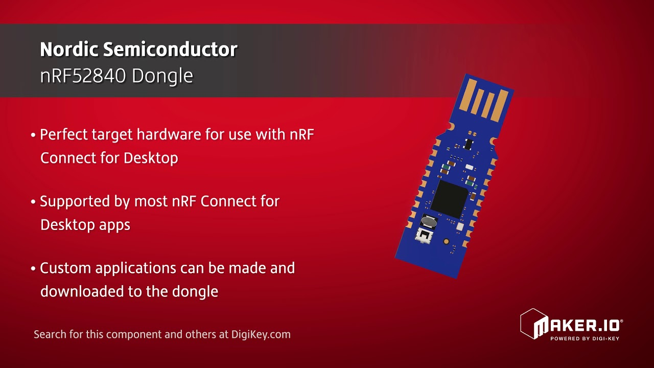 Nordic Semiconductor nRF52840 Dongle | Maker Minute