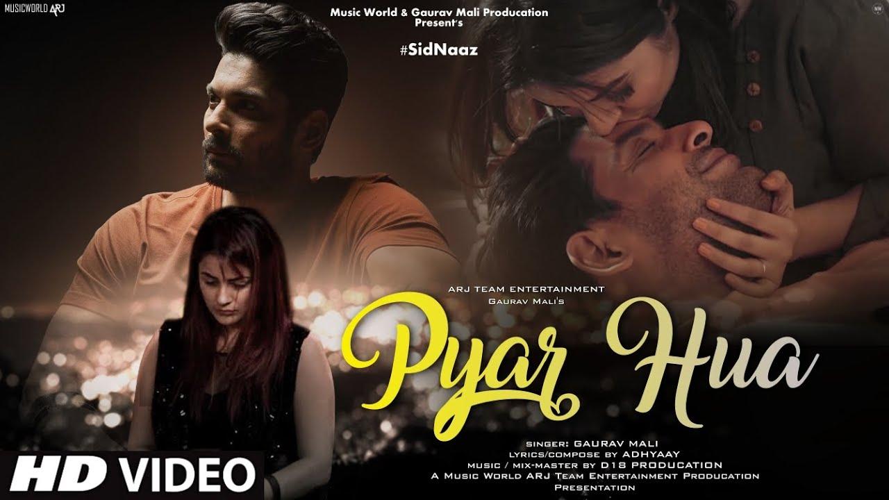 Hamein Pyar Hua: New Song 2021   New Hindi Song   Sidharth Shukla   Shehnaaz Kaur Gill   Video Song