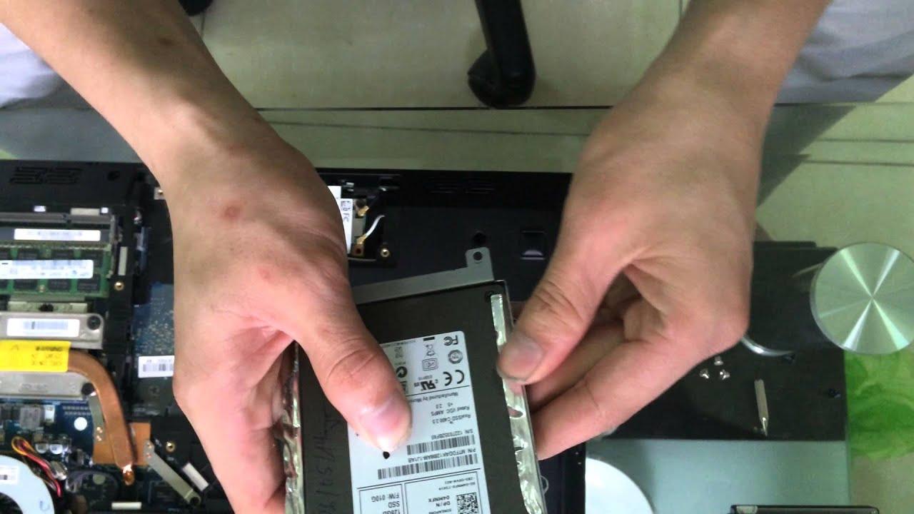 Hướng dẫn anh em tự thay ổ cứng SSD cho Laptop
