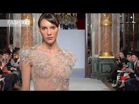 LA MÉTAMORPHOSE Haute Couture Spring 2019 Paris - Fashion Channel