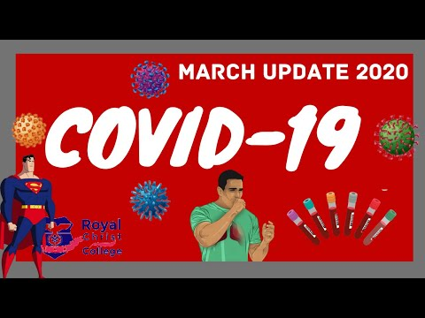 COVID-19 (Coronavirus Disease 19) March Update- Causes, Symptoms, Imaging Features X-ray CT