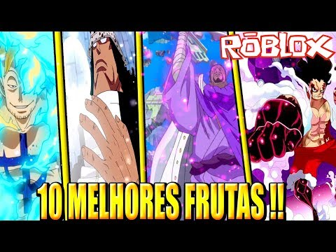 TOP 10 MELHORES FRUTAS DO BLOX PIECE !! ‹ BREN0RJ ›