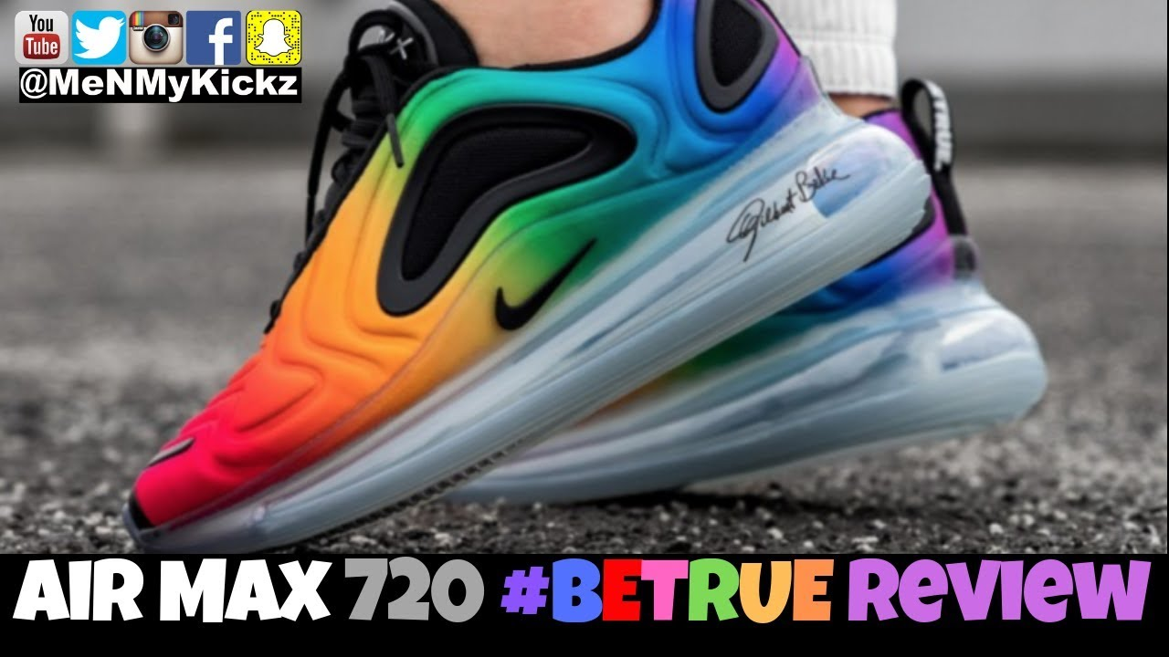 Nike Air Max 720 BETRUE Review + On Feet · AM720 BE TRUE On Foot · Sizing Guide Fit Comfort #betrue