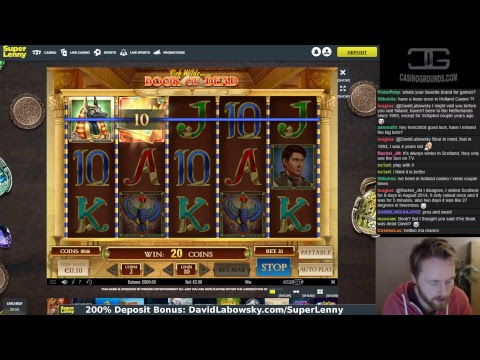 Slots and big bet machines, live from Cash-out Country!