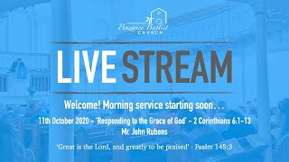Penzance Baptist Church Live Stream - 11th October 2020 AM