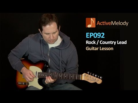 Rock / Country Guitar Lead Lesson (Part 2 of 2) - EP092