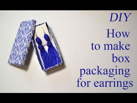 how-to-make-gift-box-packing-for-earrings-tutorial-jewelry-easy-diy
