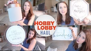 Hobby Lobby Haul! Home Decor - Bought Too Much... or is it ever enough?!