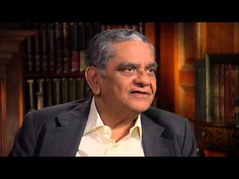 Dr. Jagdish Bhagwati - Professor of economics and law at Columbia University