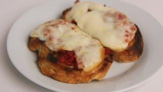 Sun Dried Tomato & Smoked Mozzarella Bruschetta Recipe - Laura Vitale - Laura In The Kitchen Ep 384