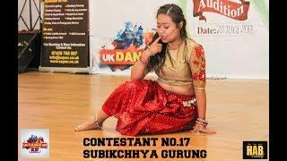 UK DANCE OFF 2017 [contestant No.17 Subikchhya Gurung ]