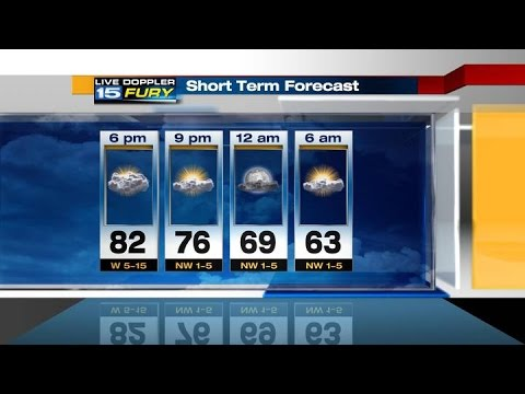 WANE Monday Night Forecast