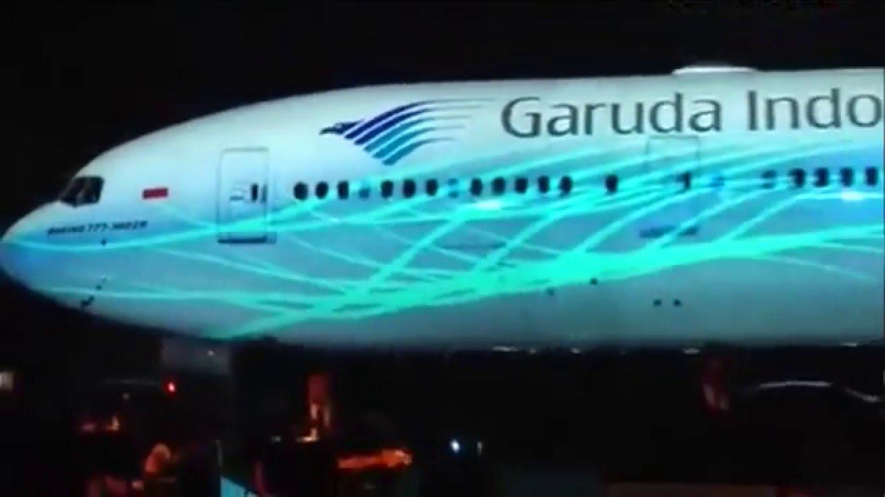 NEWEST Garuda Boeing 777 300 YouTube
