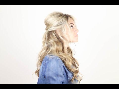 Прическа в стиле Брижит Бардо. Brigitte Bardot Hairstyle