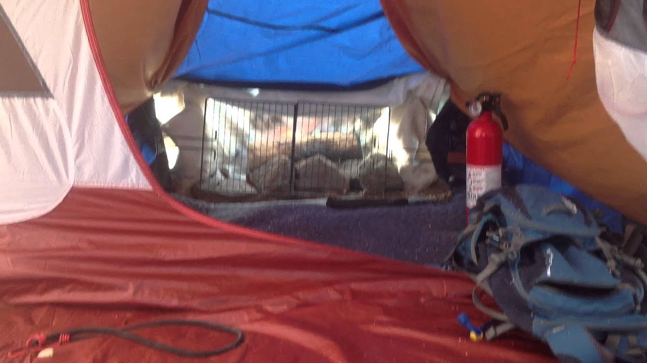 Interior of the tent fireplace & Interior of the tent fireplace - YouTube