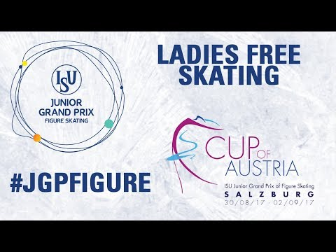 Salzburg - Ladies Free skating - ISU JGP 2017