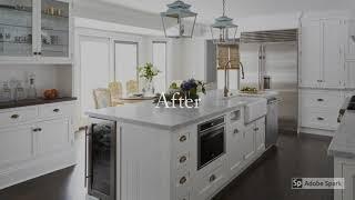 Deerfield White Kitchen Remodel