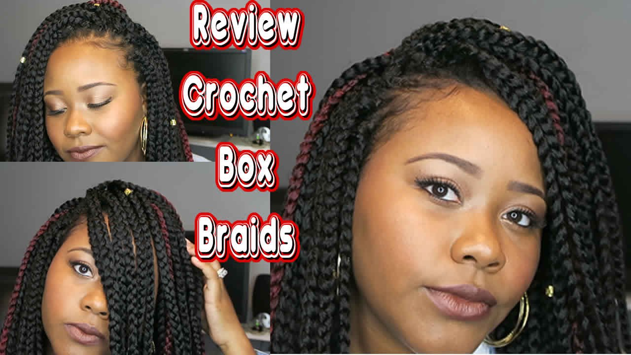 Freetress Large Crochet Box Braids : Review/Thoughts: Model Model Crochet Large Box Braids - YouTube