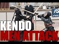 Kendo Techniques : Basic Cutting - Men - The Kendo Show